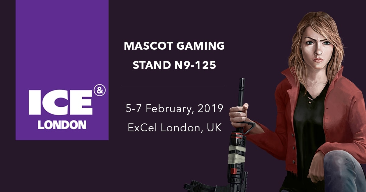Mascot Gaming at ICE 2019 London
